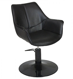 KATE ~ HYDRAULIC ~ STYLING CHAIR ~ BLACK ~ JOIKEN Collection