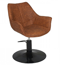 Load image into Gallery viewer, KATE ~ HYDRAULIC ~ STYLING CHAIR ~ TAN ~ JOIKEN Collection