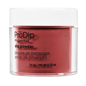 PRO DIP RED DAHLIA ~ Acrylic Dip Powder ~ PRODIP Collection