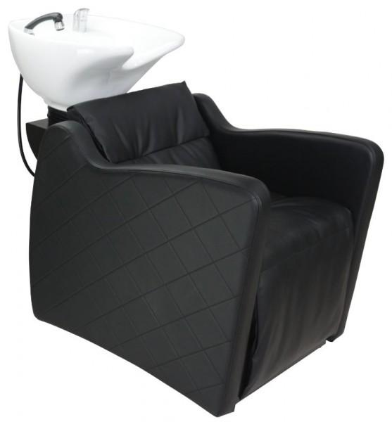 VALENCIA ~ SHAMPOO UNIT ~ BLACK UPHOLSTERY ~ JOIKEN Collection
