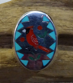 Men's Zuni Inlay Ring