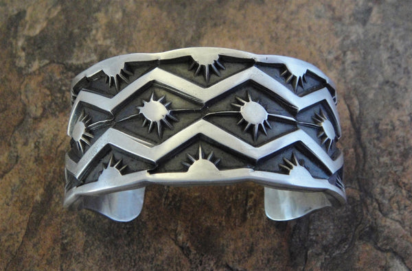 Men's Heavy Sterling Silver Cuff