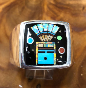 Men's Yei Inlay Ring