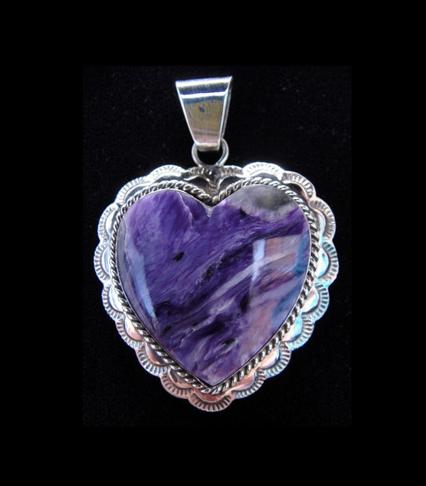 Charite & Sterling Silver Heart Pendant
