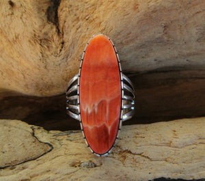 Spiny Oyster Sterling Silver Ring