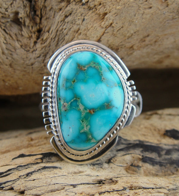 Turquoise Mountain Turquoise Ring