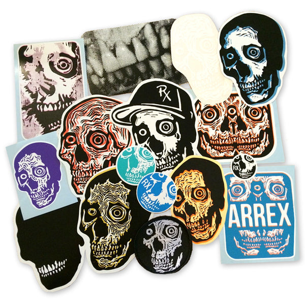 Arrex Sticker Pack<br>