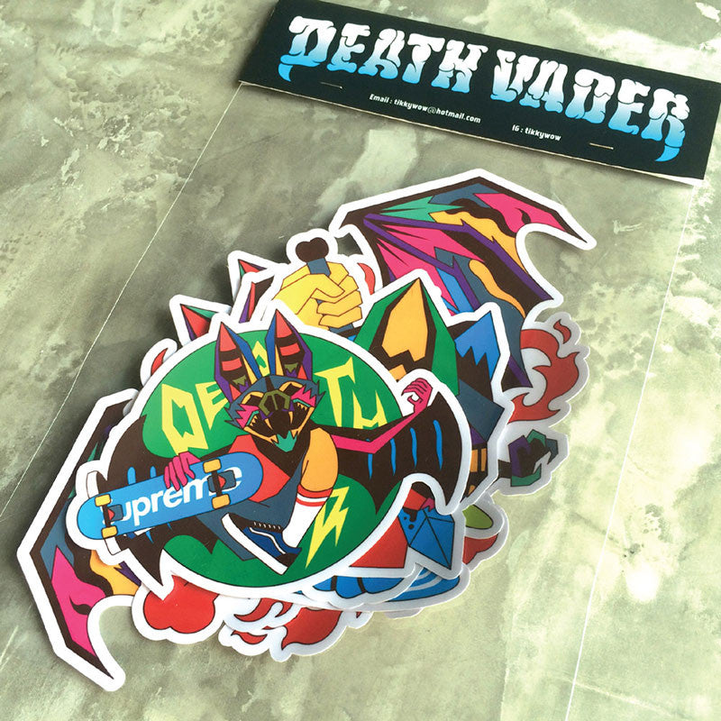Death Vader Sticker Pack