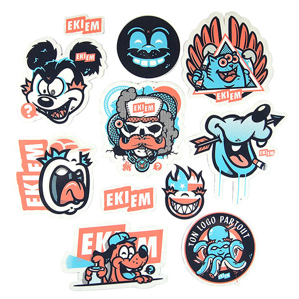 EKIEM X TLP STICKER PACK<br>