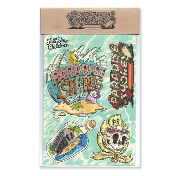 Paradise Shores Sticker Pack