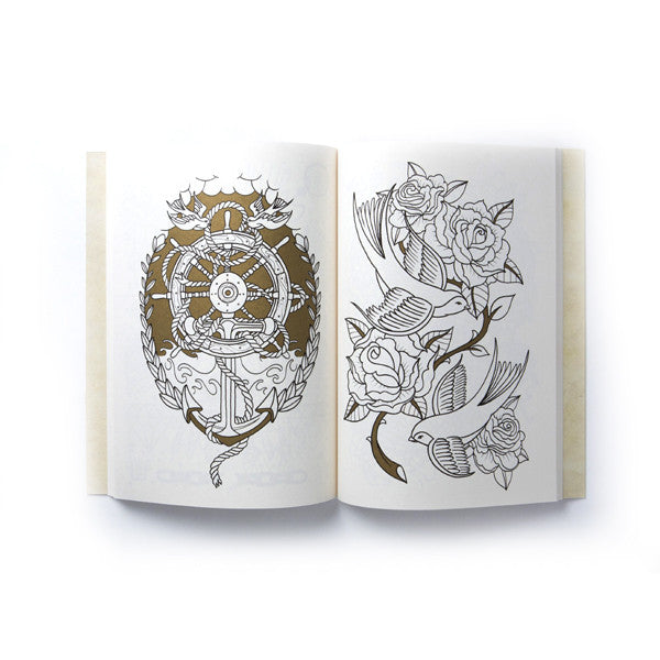 The Tattoo Colouring Book<br>