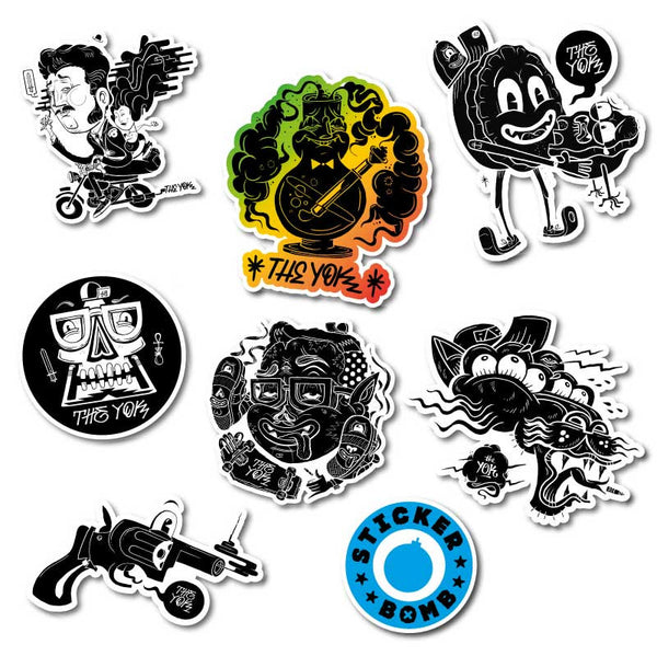 The Yok Sticker Pack<br>