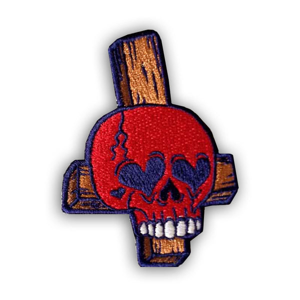 Love Skull Patch<br>