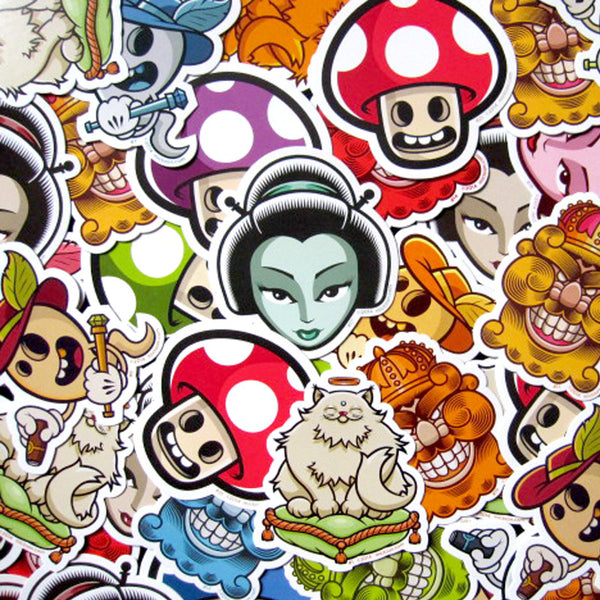 Mictoon Sticker Pack<br>
