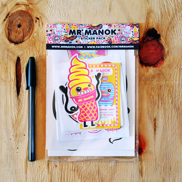 Mr Manok Sticker Pack<br>