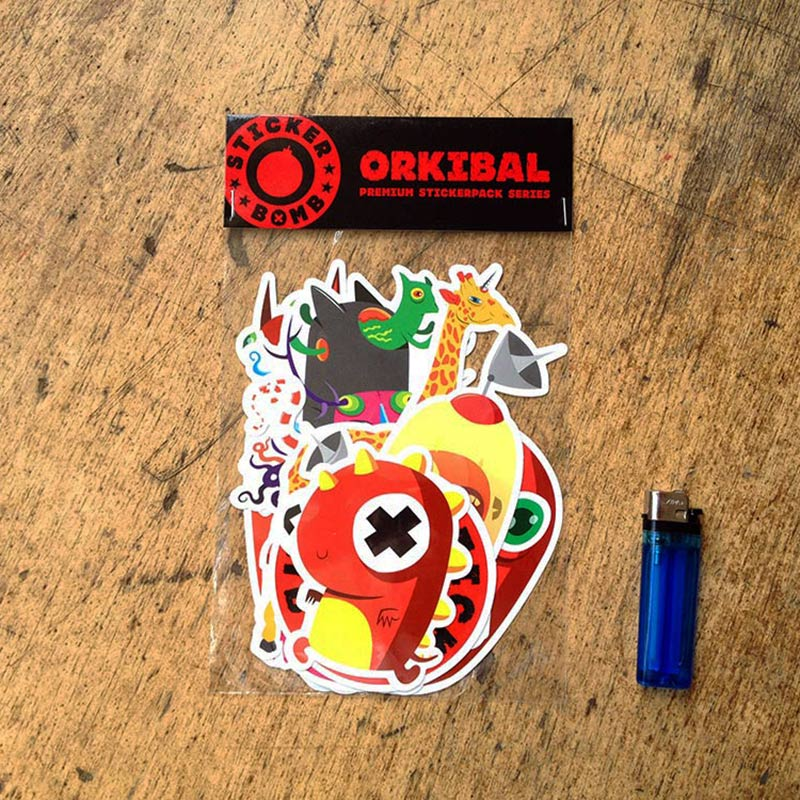 Orkibal Sticker Pack<br>