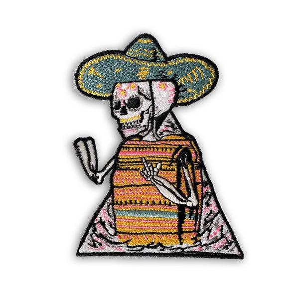 Poncho Skull Patch<br>