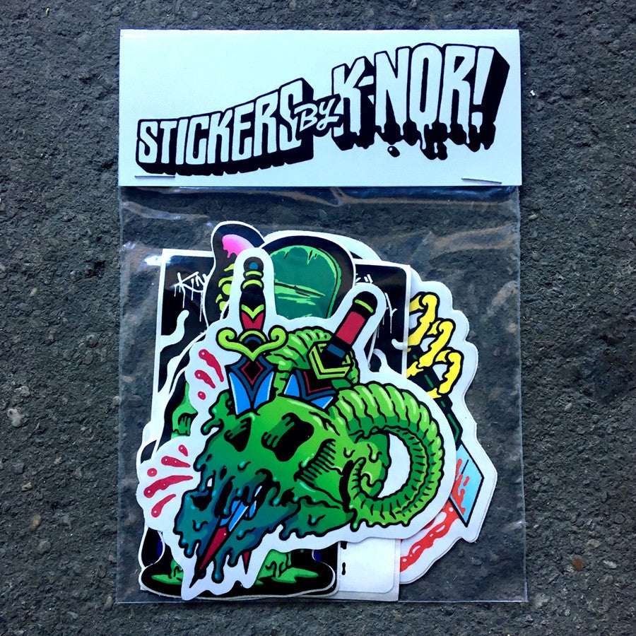 K.Nor Sticker Pack