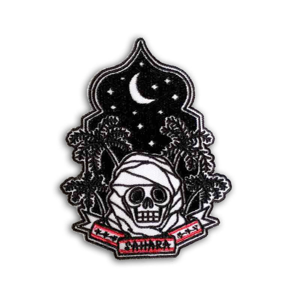 Sahara Skull Patch<br>