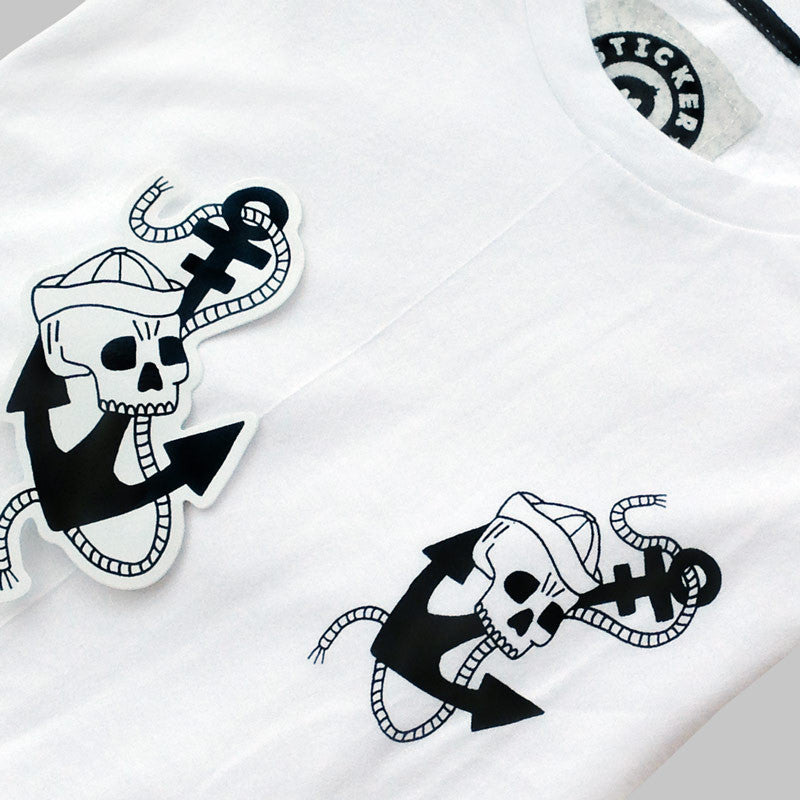 Anchor Skull T-Shirt<br>