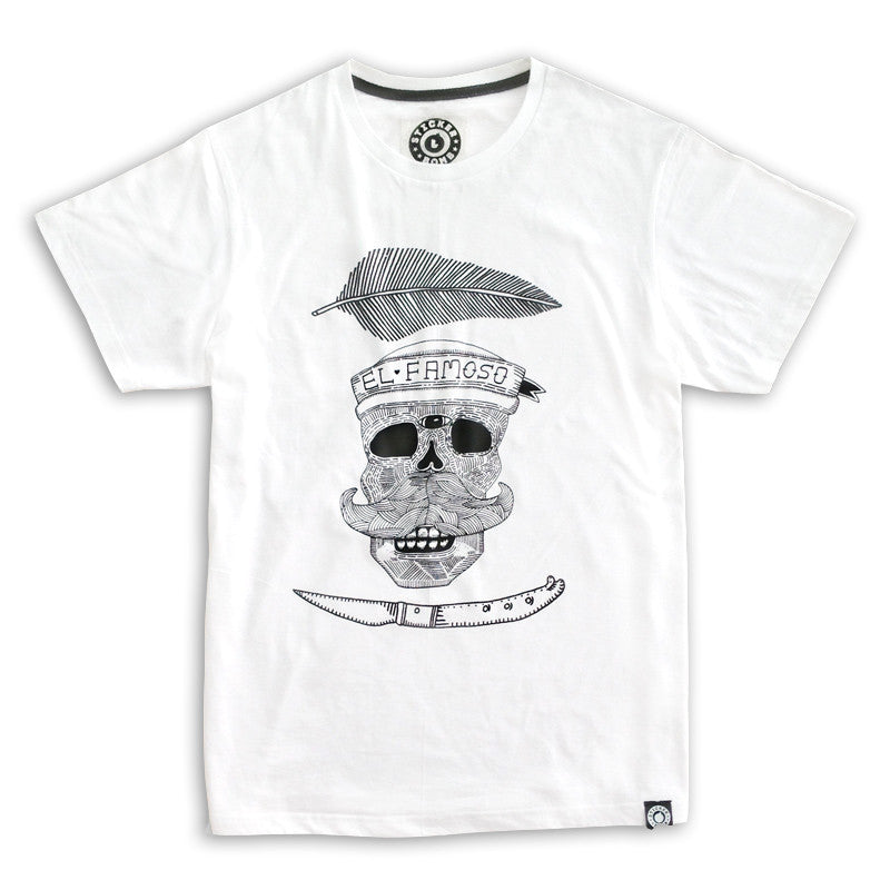 El Famoso Pirate Skull T-Shirt<br>
