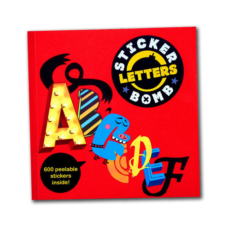 Stickerbomb Letters<br>