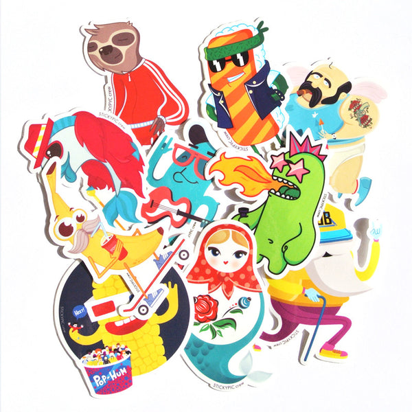 Stickypic Crew Sticker Pack<br>