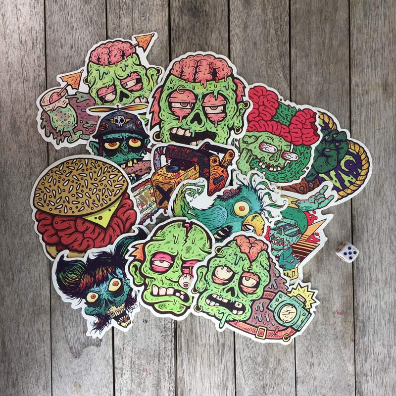 Sticker Zombies