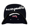 Rare Bold Infinity Camo Snapback in Navy Blue / White / Pink