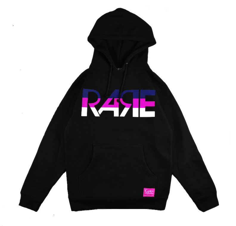 Rare Original Bold Hoodie in Black / Navy Blue / Pink / White