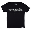 Incomparable II Tee in Black / Glow in the Dark / Black