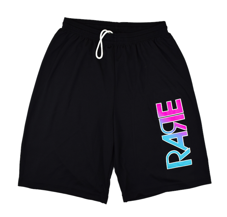 Rare Original Bold Hoop Shorts in Black / Pink / Crystal Blue / White