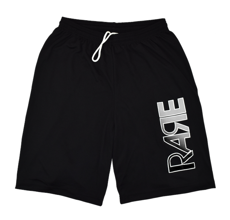Rare Original Bold Hoop Shorts in Black / Gray / White