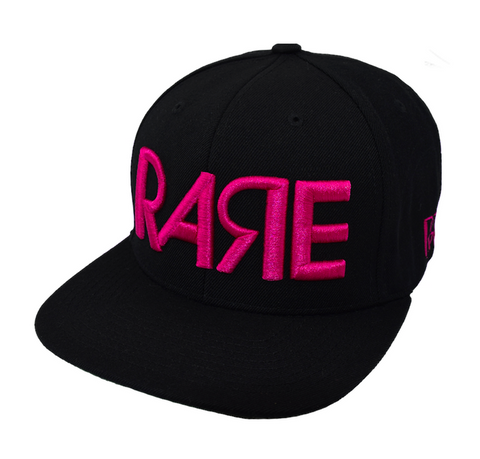 Rare Original Bold Snapback in Black / Pink