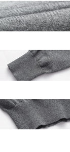 Autumn Casual Men's Sweater | O-Neck Striped Slim Fit Knittwear | Mens Sweaters Pullovers