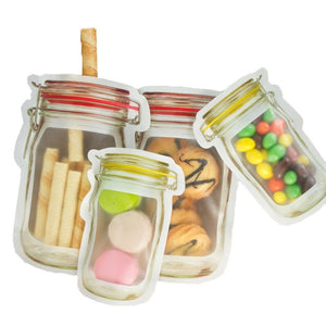 Reusable Mason Jar Bottles Storage Bags