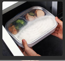 Load image into Gallery viewer, Worthbuy 6Pcs/Set Reusable Silicone Stretchable Food Cover Lids