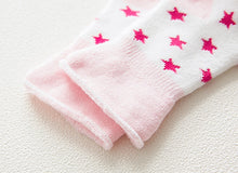 Load image into Gallery viewer, 5 pair High Quality Thickened Cartoon Comfort Cotton Newborn Socks
