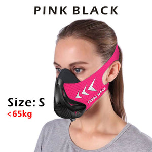 Fitness Sports Mask For Workout | Endurance Mask For Fitness Training