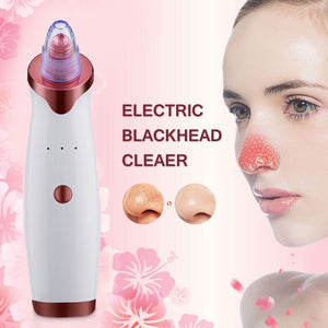 Electric Acne Remover | Blackhead Vacuum Extractor Tool | Black Spots Pore Cleaner