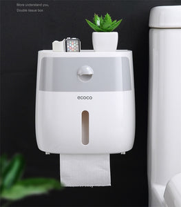 Waterproof Wall Mountable Toilet Tissue Paper Holder