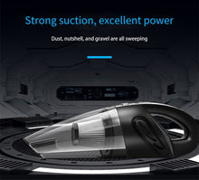 Load image into Gallery viewer, 4800pa Strong Power Car Vacuum Cleaner with Handbag | Handheld Cordless Portable Powerful Cyclone Suction Rechargeable Vacuum Cleaner