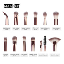 Load image into Gallery viewer, MAANGE Professional Makeup Brushes