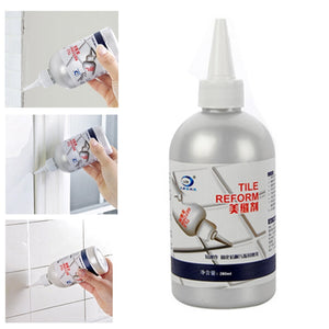 Tile Gap Refill Agent |Tiles Reform Coating Mold Cleaner |Tile Sealer Repair Glue