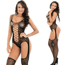 Load image into Gallery viewer, Sexy Lingerie Erotic Teddies Bodysuits Mesh