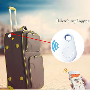 Pets Smart Mini GPS Tracker | Anti-Lost Waterproof Bluetooth Tracer For Pet | Dog, Cat, Keys, Wallet, Bag, Kids Trackers Finder Equipment