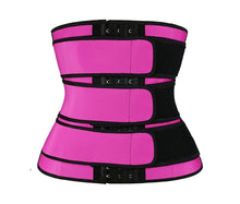 Load image into Gallery viewer, Neoprene Sauna Waist Trainer Corset Sweat Belts Body Shaper Slimming Corset Weight Loss Compression Trimmer Belt for Women