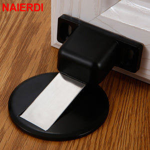 Stainless Steel Rubber Magnetic Door Stopper
