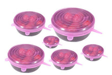 Load image into Gallery viewer, 6PCS Universal Silicone Stretch Lids