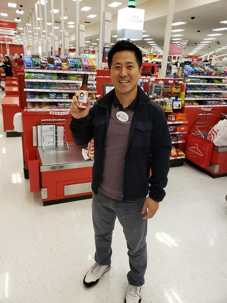 Our K-Mama Sauce Is Now In Our First Chicago Target Store!